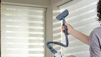 Como limpiar persianas con vaporeta